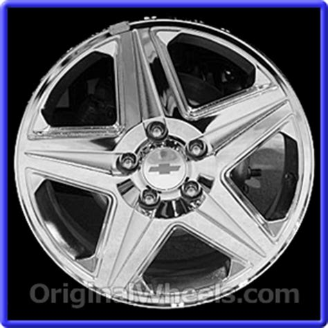 oem 2005 chevrolet impala used factory wheels from