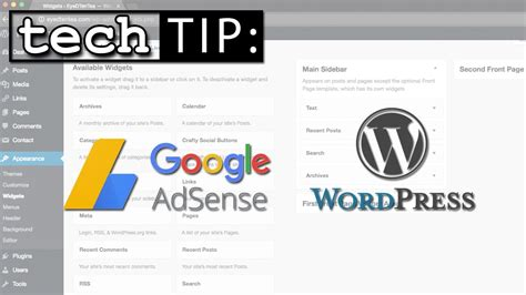 wordpress homepage tutorial no more google adsense plugin for wordpress tutorial on