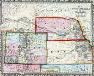 kansas nebraska colorodo map lincoln s writings