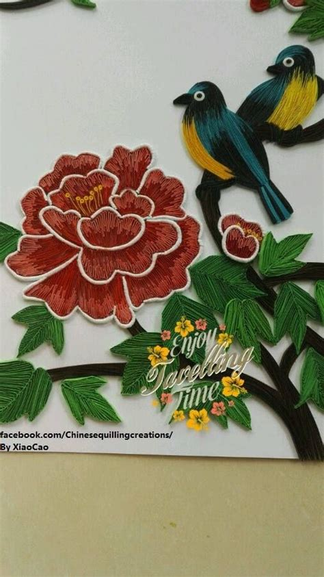 procedure quilling parrot branka mileti all about 364 best images about quilling birds on pinterest paper