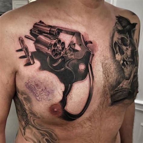 bullet tattoo would you get these 13 shooting tattoos