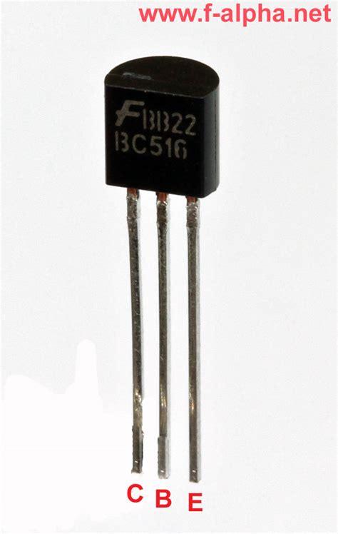 transistor darlington bc517 f alpha net bc 516