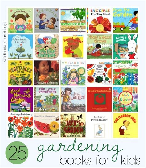 planting gardens in books g is for gardening with wildflower ramblings