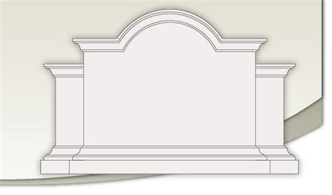 Standard Monument Models 01 08 By Custom Foam Fabricators Monument Sign Templates