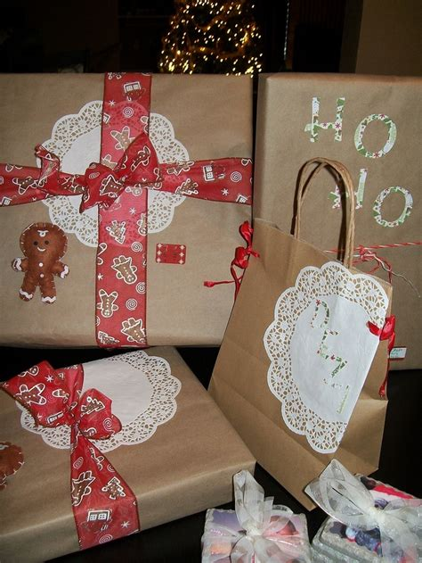 pinterest inspired christmas gift wrap wrap it tag it