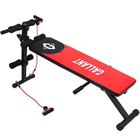 gallant sit up bench ab abdominal crunch exercise board slant fitness abs workout