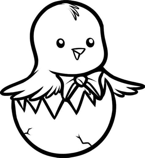 chicken coloring pages preschool easter chick coloring sheets printable free for preschool