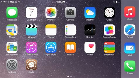 landscape layout iphone 6 plus get the iphone 6 plus resolution home screen landscape