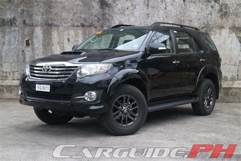 2015 Toyota Fortuner Review 2015 Toyota Fortuner 2 5 V Philippine Car News