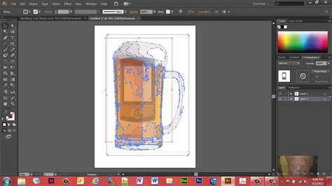combining  images  illustrator cs  image trace