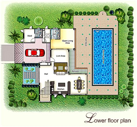 Tropical House Designs And Floor Plans by Tropical House Design Floor Plans Modern Tropical House
