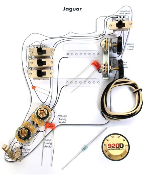 fender jaguar bass wiring diagram dejual