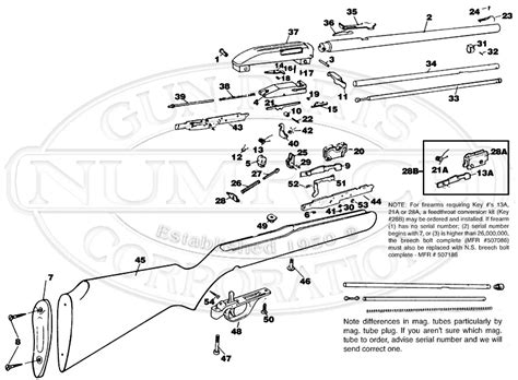 Gland For Airless 45 1 65 schematic numrich