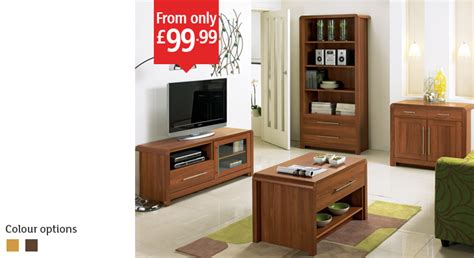 Hygena Strand Lounge furniture Collection   entertainment unit   nest of tables   coffee table
