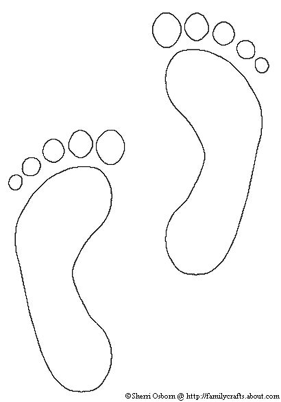 Free Coloring Pages Of Foot Foot Coloring Pages