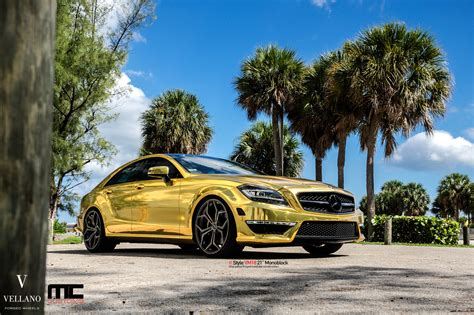 Home Design 3d Gold Video mercedes cls 63 amg makes gold wrap and vellano wheels