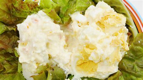 kewpie potato salad 卵をモミモミするだけで完成するタマゴサラダがパワーアップした つぶしておいしいたまごとポテトサラダ を食べてみました