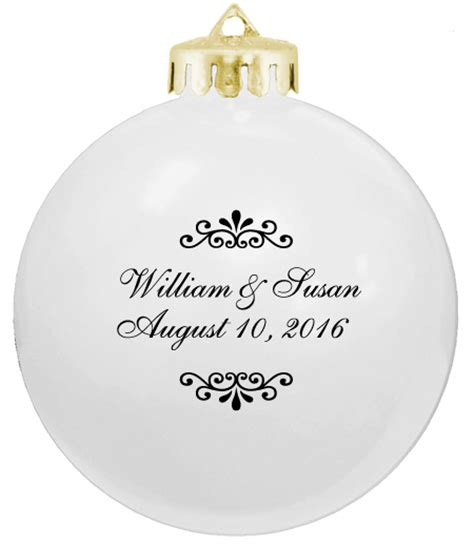 Wedding Favors Ornaments by White Wedding Favors Ornaments