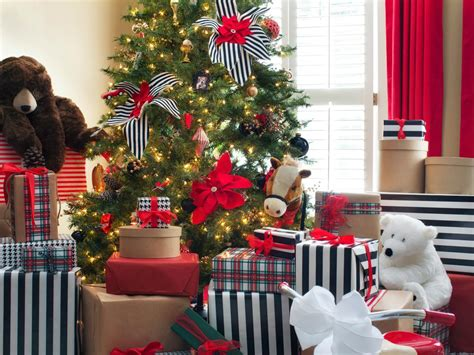 betty page under the christmas tree photo page hgtv
