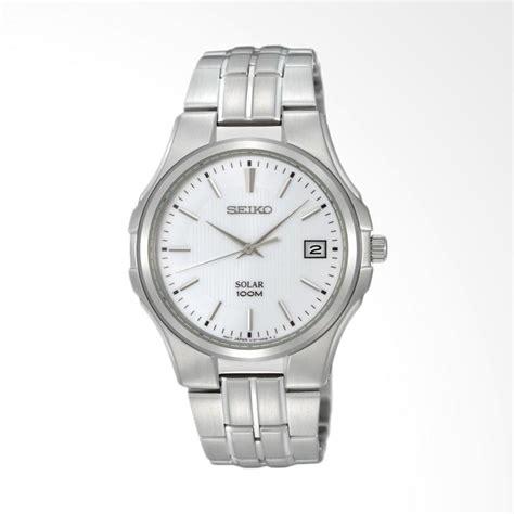 Jam Tangan Pria Seiko Solar Sne077 jual seiko solar stainless steel jam tangan pria