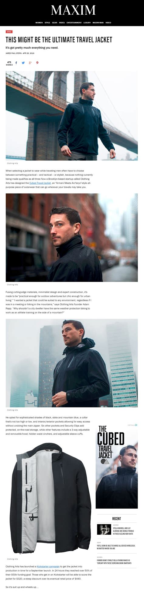 expert design and construction reviews the cubed travel jacket a waterproof shell for everyday