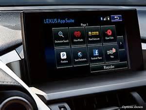 Lexus App Suite 2017 Lexus Nx Luxury Crossover Technology Lexus