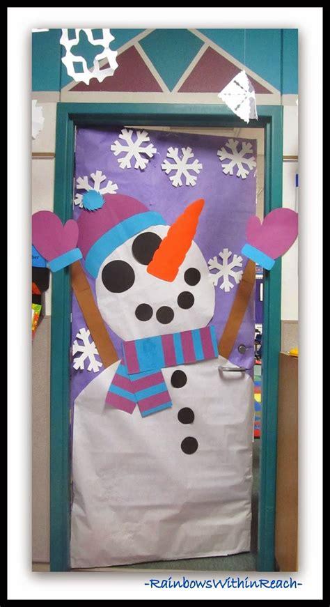 winter door decorations winter themed decorated classroom doors classroom door