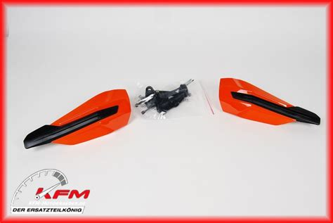 Ktm Original Parts 7770217900004 Ktm Handguards Cpl L R Orange Genuine New