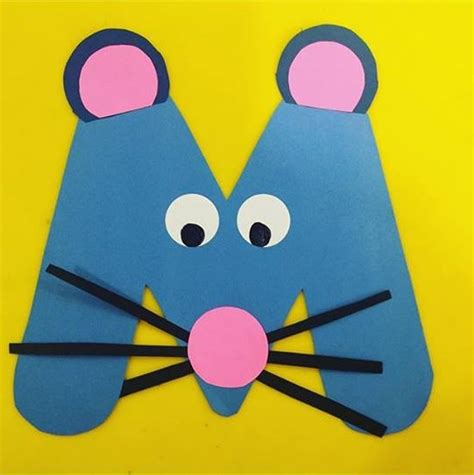 mouse craft for m is for mouse 171 preschool and homeschool