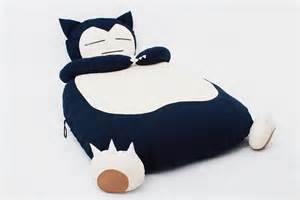 Cute handmade bed in snorlax form monster bed home building