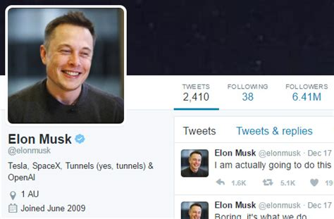 elon musk tweet elon musk hates sitting in traffic says he s going to
