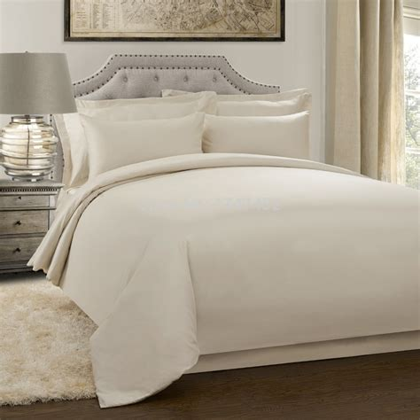 300thread count quilt cover set cream in bedding sets from