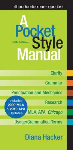 a pocket style manual apa version a pocket style manual apa version 6th edition pdf