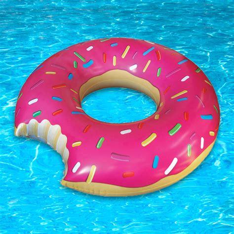 donut pool float sprinkled donut pool float
