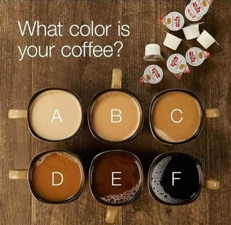 what do colors what color do you like your coffee girlsaskguys