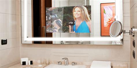 bathroom mirror tv screen mirrorvue mirror tv completely vanishing mirror tv 4k