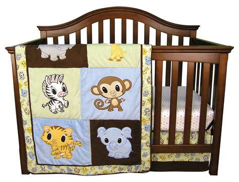 Zoo Crib Bedding Zoo Crib Bedding Jungle Monkey Unisex Animal Giraffe 5pc Neutral Zoo Nursery Crib Bedding Set