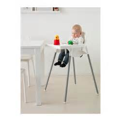 Ikea antilop highchair with tray easy to disassemble and carry along