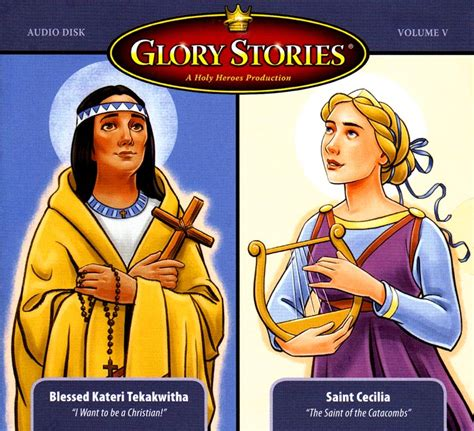 Bl Cacilia stories bl kateri st cecilia seton