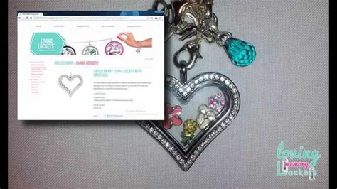 Origami Owl Product Reviews - origami owl locket with crystals product review