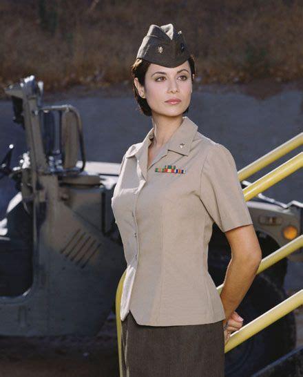Catherine Bell Is A Big Fan Of Windows Vista by Catherine Bell As Maj Lt Col Quot Mac Quot Mackenzie Jag