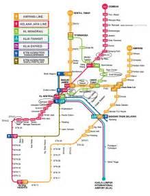 Lrt Monorail Ktm Map Kl Trip April 28th Kl Transport Lrt Map