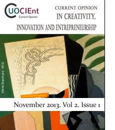 Mba In Innovation And Entrepreneurship Scope by Current Opinion In Creativity Innovation And Entrepreneurship