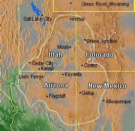 map of the colorado plateau expeterra colorado plateau