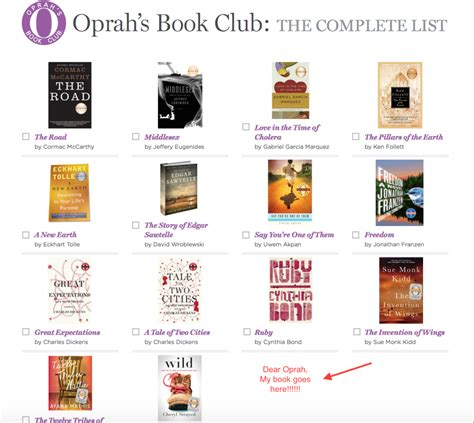 Book Club E Books Directory Why I Need To Be In Oprah S Book Club Caf 233 Casey