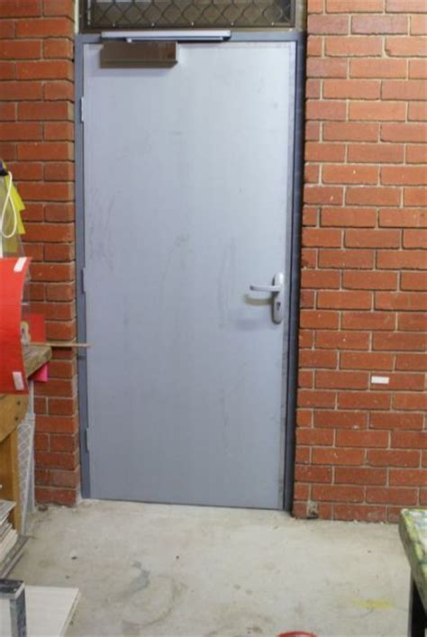 Fire Doors Exit Doors Security Doors Melbourne Steel Clad Exterior Doors