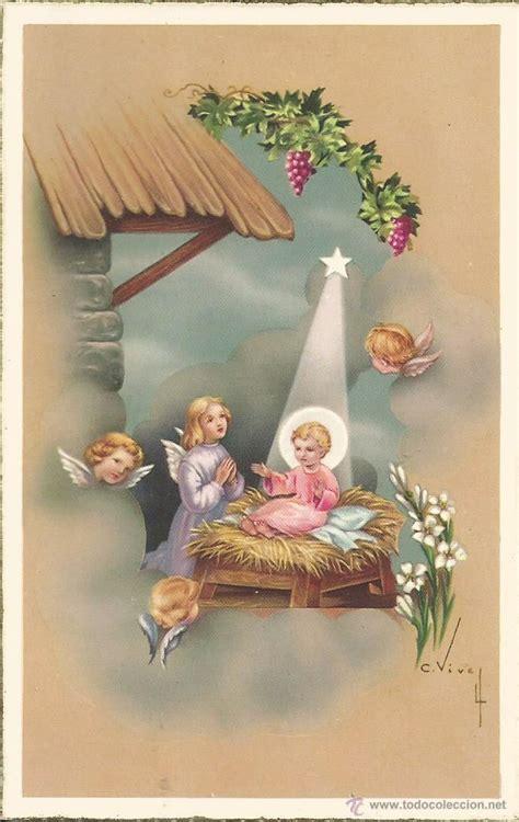 imagenes catolicas navidad antigua tarjeta postal religiosa nacimiento n comprar