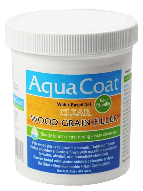 Gel Stains For Kitchen Cabinets by Wood Grain Filler Clear Grain Filler Aqua Coat