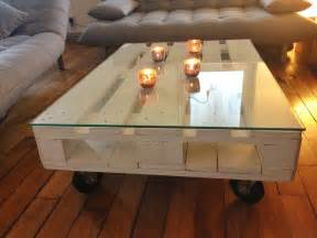 la clamartoise diy une table basse en palette