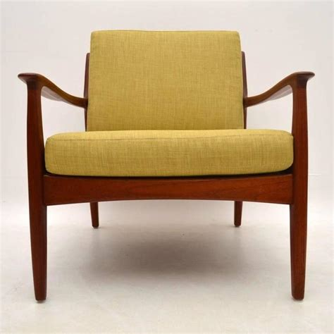 vintage danish armchair danish retro teak armchair vintage 1960s at 1stdibs